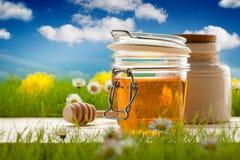 Sweet natural food - Honey Stock Photography