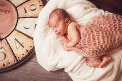 Sweet newborn baby Royalty Free Stock Photos