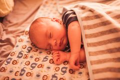 Sweet newborn baby Stock Photography
