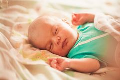 Sweet newborn baby Royalty Free Stock Photo