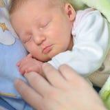 Sweet newborn baby. Royalty Free Stock Photos