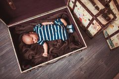 Sweet newborn baby Royalty Free Stock Image