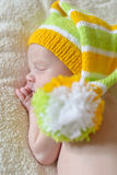 Sweet newborn Stock Images