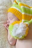 Sweet newborn Stock Images
