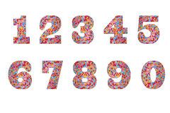 Sweet Numbers Stock Photos