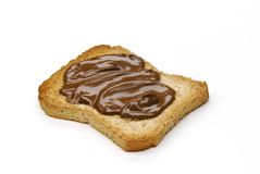 Sweet nutella. Stock Image