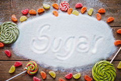 Sweet nutrition Royalty Free Stock Images
