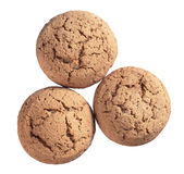 Sweet oatmeal cookies Royalty Free Stock Images