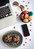 Sweet office concept Royalty Free Stock Photography