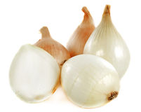 Sweet onions stock photo