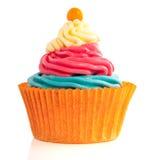 Sweet Orange Cupcake Stock Image