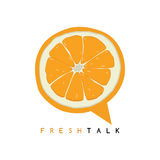 sweet orange fruit fresh talk Stock Photography