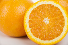 Sweet orange fruit Stock Photography