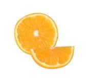 Sweet orange fruit isolated on white background. Orange fruit isolated on white background royalty free stock photos