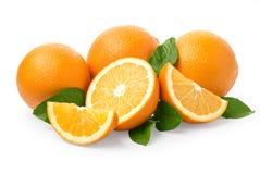 Sweet orange fruit Royalty Free Stock Images