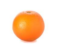 Sweet orange fruit on white. Orange fruit on white royalty free stock images