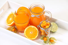 Sweet orange juice Royalty Free Stock Photos
