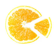 Sweet Orange sliced Royalty Free Stock Photos