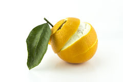 Free Sweet Orange With Peeled Royalty Free Stock Images - 33774959