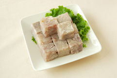 Sweet osmanthus taro. Chinese cuisine. chinese food cold dish. yumcha Royalty Free Stock Photography
