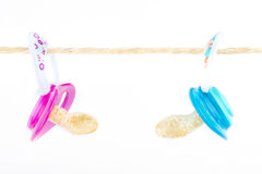 Sweet pacifiers Royalty Free Stock Images