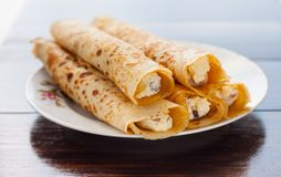Sweet pancake Stock Images