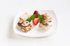 Sweet pancake Stock Photo