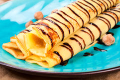 Sweet pancake Royalty Free Stock Photography