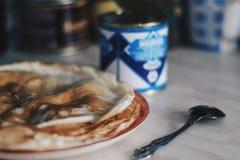 Sweet pancake week stock images