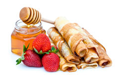 Sweet pancakes Royalty Free Stock Photo