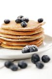 Sweet pancakes with berries Royalty Free Stock Photography