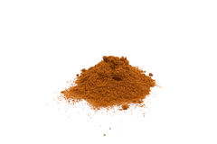 Sweet Paprika. Food & Drinks - Spices - Sweet paprika isolated on white background Stock Image