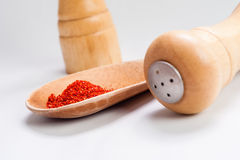 Sweet paprika dust Stock Photography