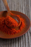 Sweet paprika Stock Photo