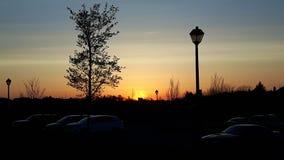 Sweet Paradise. Sunset on the Ancaster skyline Royalty Free Stock Photos