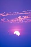 Sweet Pastel Sunset Or Sunrise, Soft Focus. Royalty Free Stock Image