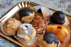 Sweet pastries Royalty Free Stock Images