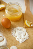 Sweet pastries Stock Photography