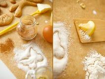 Sweet pastries Stock Photos