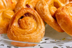 Sweet pastries Stock Images