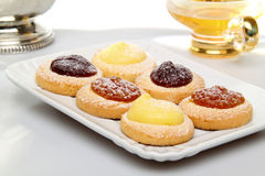 Sweet pastries assortment Royalty Free Stock Photography