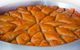 Sweet Pastry (Baklava) Royalty Free Stock Images