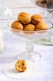 Sweet pastry balls with caramel filling Stock Photo