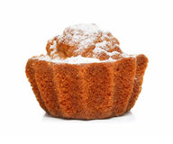 Sweet pastry cake isolated on white Stock Photo