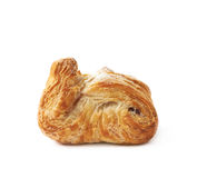 Sweet pastry pocket isolated Stock Photo
