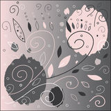 Sweet Pattern. Cute and artistic painting. Vector illustration Royalty Free Stock Photos