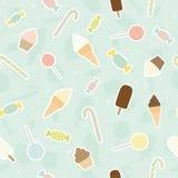 Sweet pattern. Vector EPS 10 seamless pattern royalty free illustration