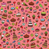 Sweet pattern Royalty Free Stock Photo