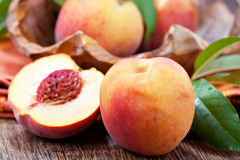 Sweet peach Stock Images