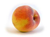 Sweet peach. Peach royalty free stock image